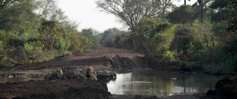 Dårlige veje på ekspedition til Sydsudan