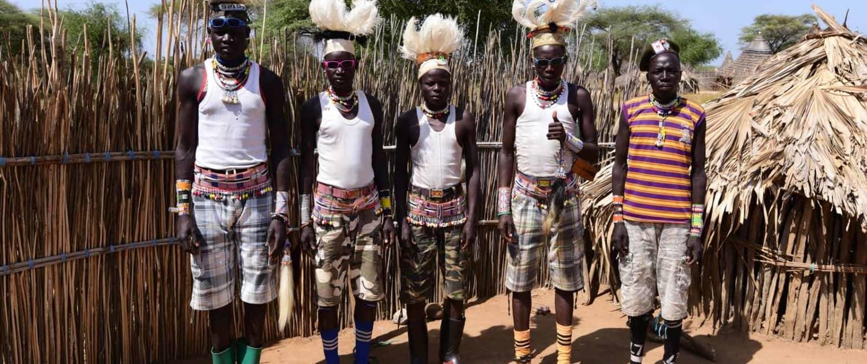 Boya-mænd på rejse til Sydsudan