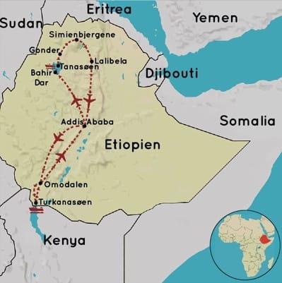 Rejser til Etiopien