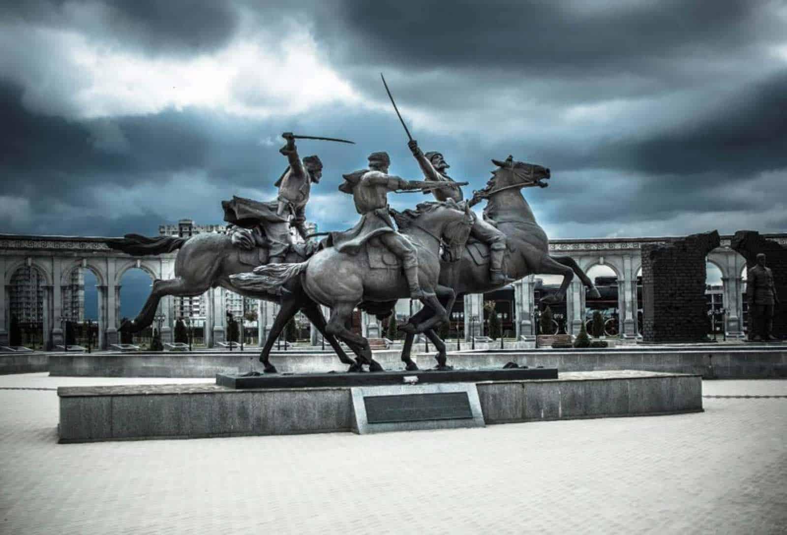 Memorial of memory and glory i Nazran