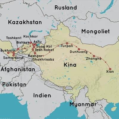 Rejser til Silkevejen