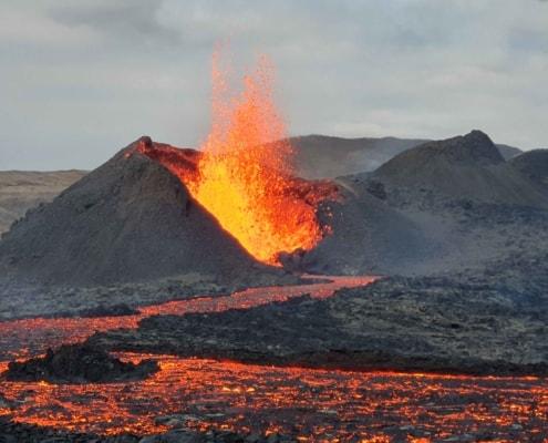 Vulkanudbrud på Island
