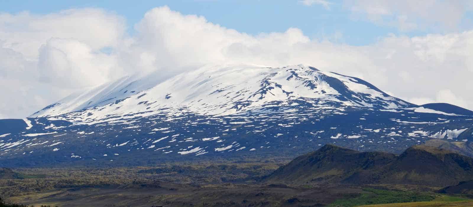 Hekla på rejse til Island