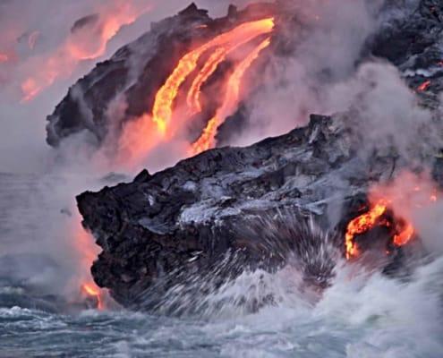 Lava på Island
