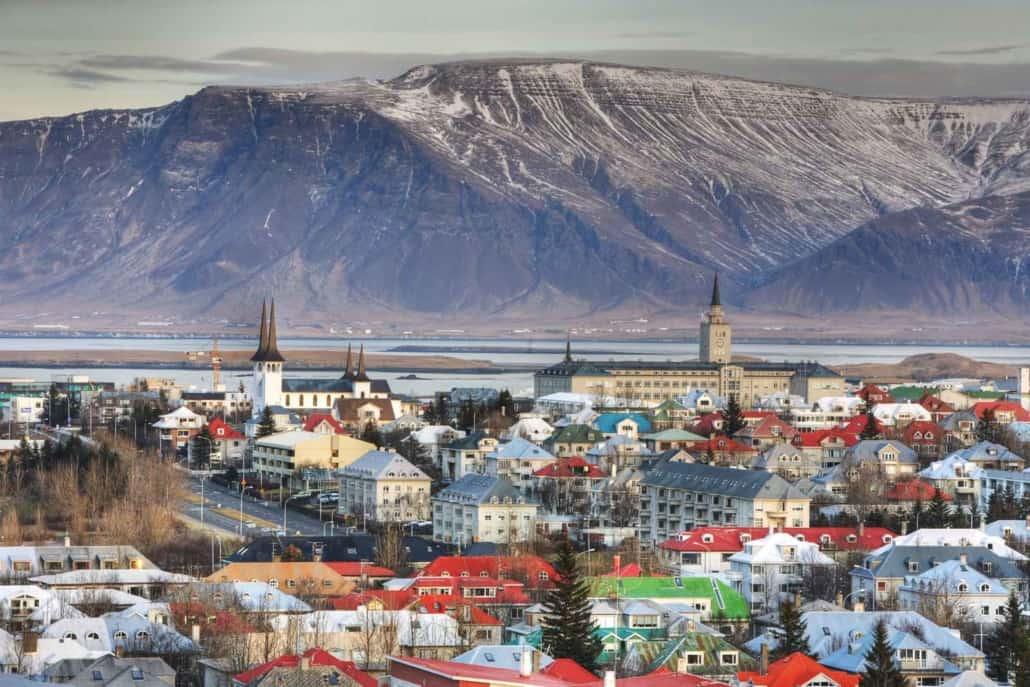 Reykjavik på rejser til Island