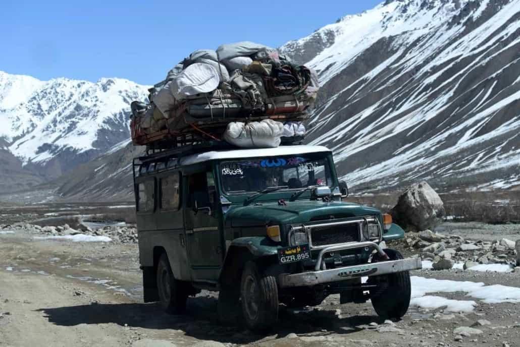 Rejse til Pakistan
