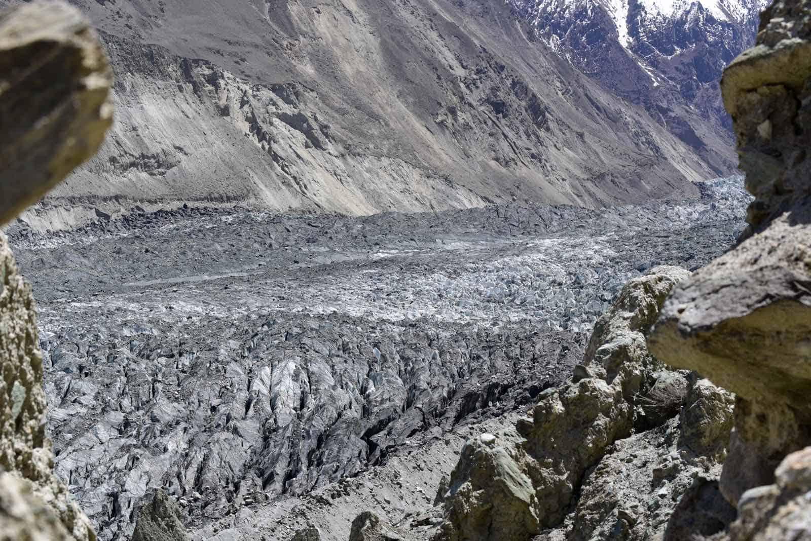 Hoper Gletsjer i Pakistan