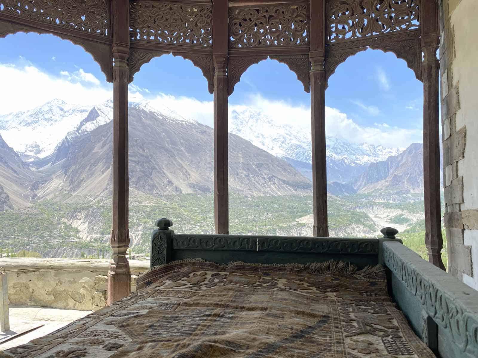 Hunzadalen i Pakistan
