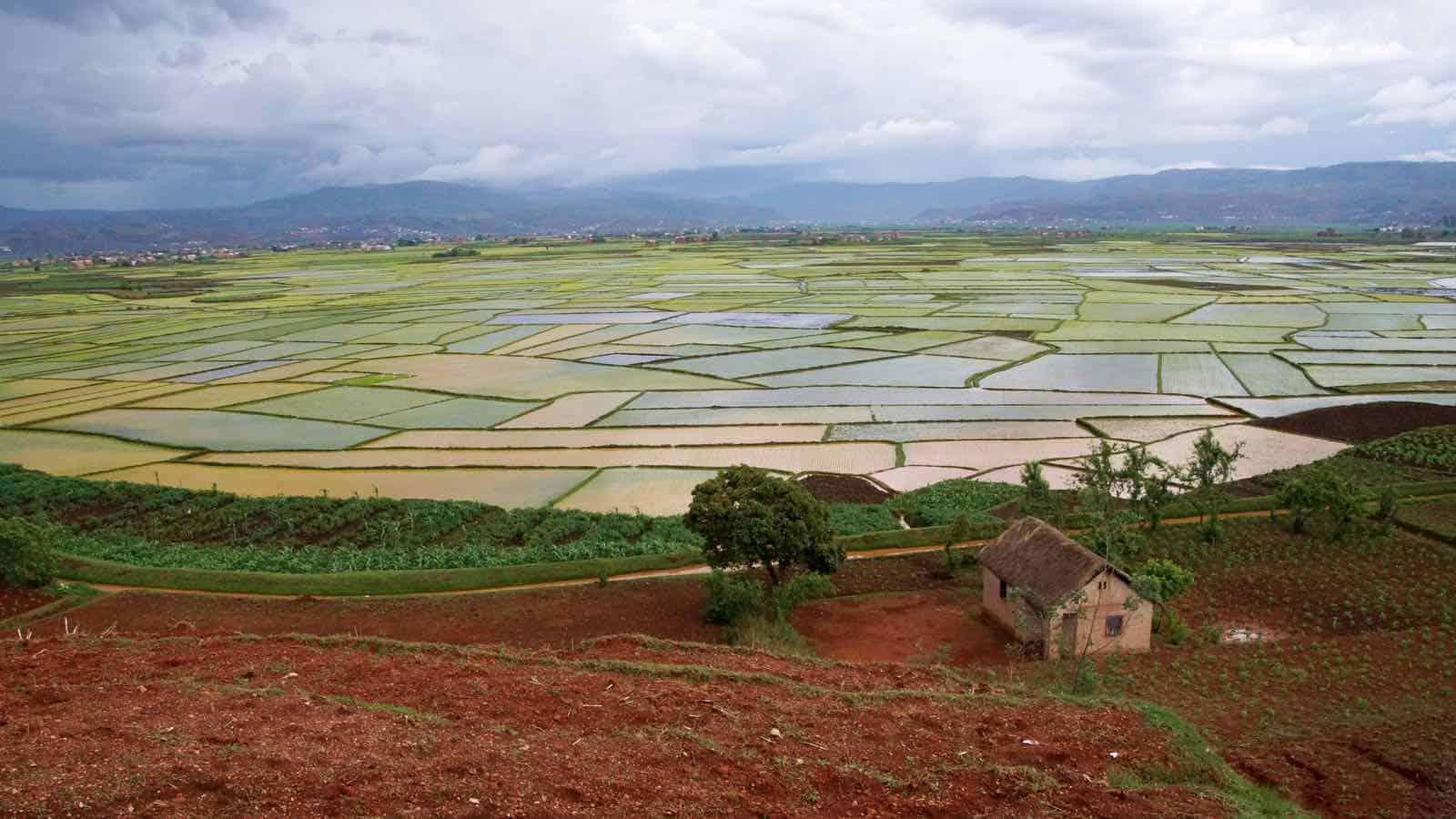 Smukke landskaber i Madagaskar