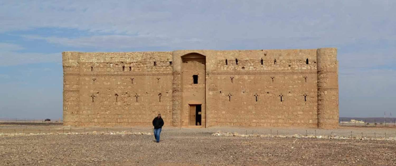 Ørkenslotte i Jordan