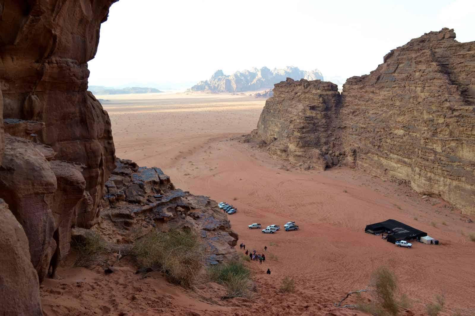 Wadi Rum i Jordan