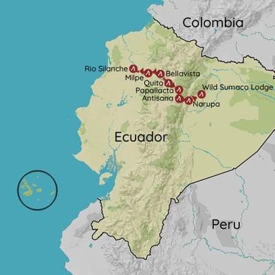 Ecuador fuglerejse