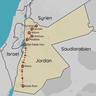 Rejser til Jordan