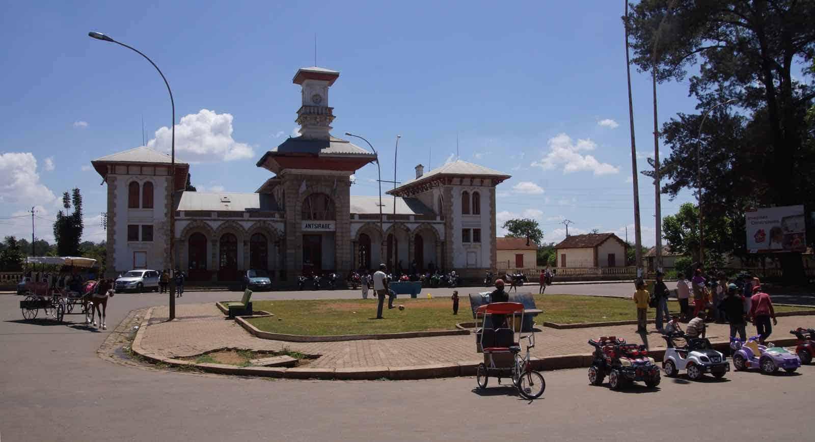 Gamle byer i Madagaskar