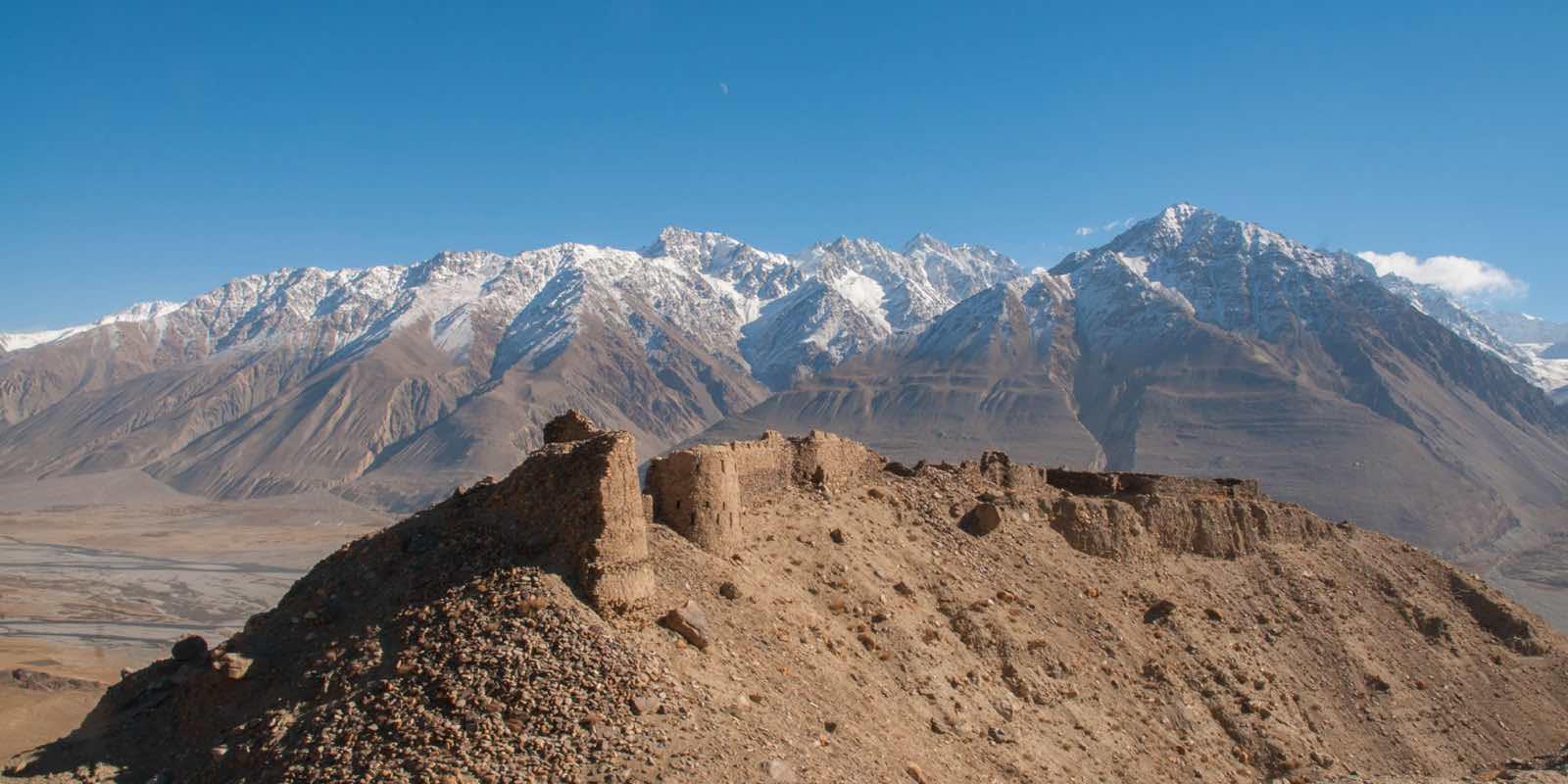 Yamchun Borg på rejser til Tajikistan